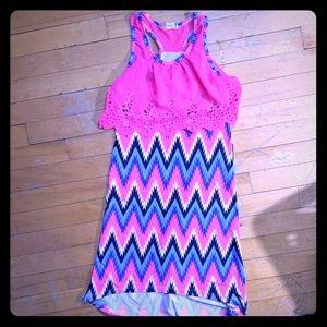 One step UP girls dress